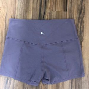 lululemon athletica Shorts - Purple Lululemon shorts